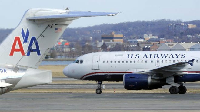 US Airways, AA