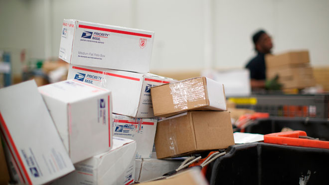 USPS, Postal service, boxes, shipping, delivery