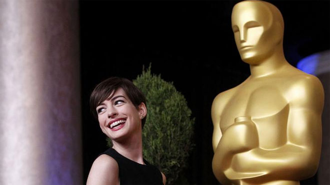 Anne Hathaway, Oscars, Actress, Hollywood, Awards Season