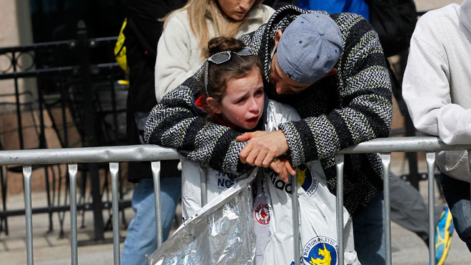 Boston Marathon Explosion, parent, child,