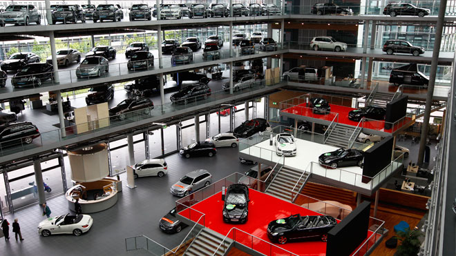car dealership germany mercedes