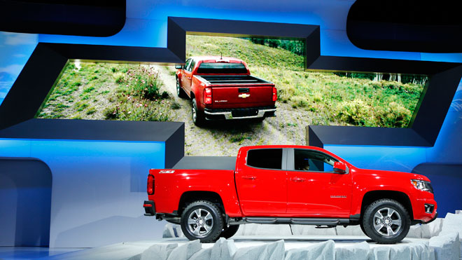 chevrolet colorado, general motors, gm, la auto show