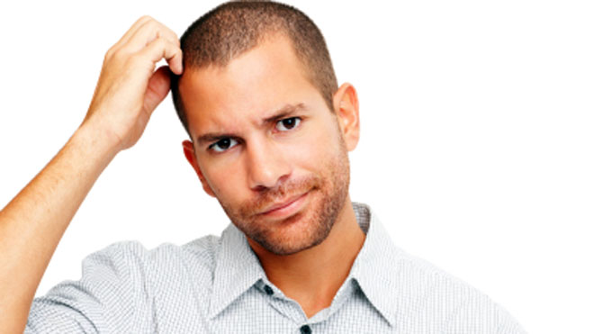 Confused Man, iStock