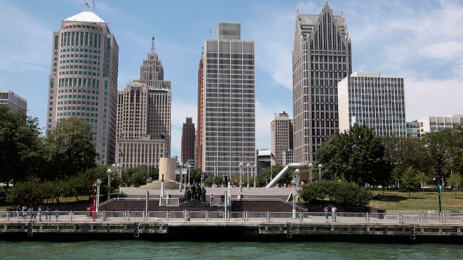 Detroit, Michigan, Downtown