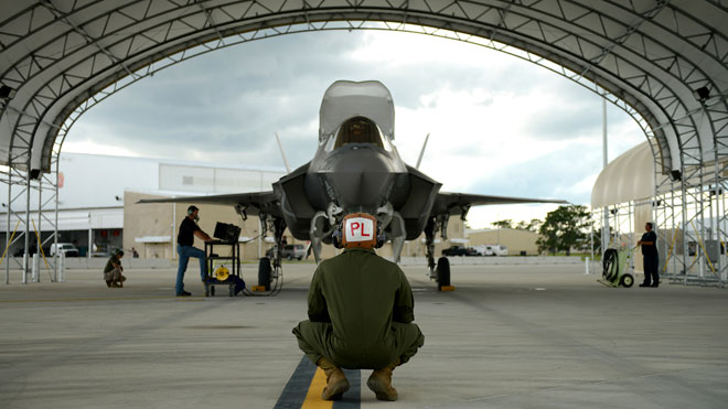 f35 joint strike fighter, marine corps