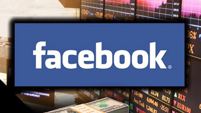 Facebook broke below its $38-a-share issue IPO price