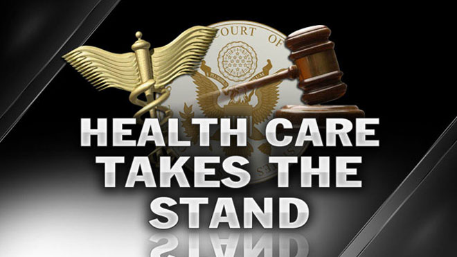 Health-Care Takes a Stand Graphic