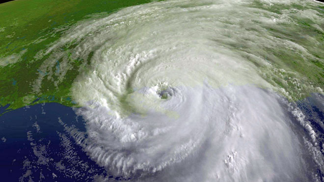 Hurricane Katrina, NOAA, hurricane satellite