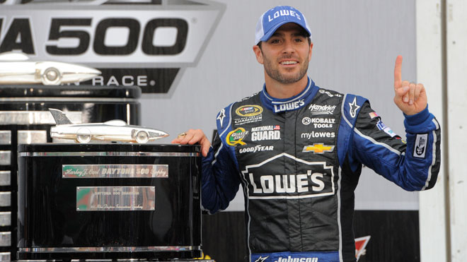nascar, jimmie johnson, chevy, daytona 500