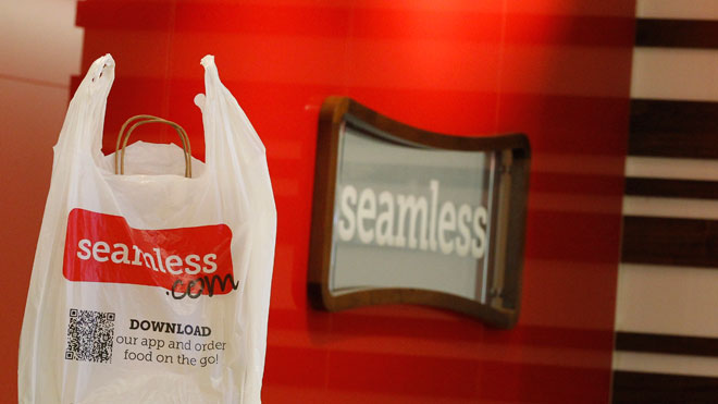 seamless web, online delivery
