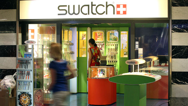 Swatch Store, Swatch, retail, retail store
