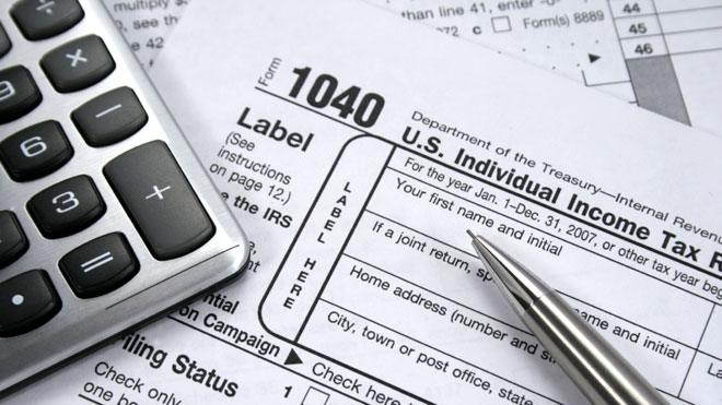 taxes, tax form, 1040, tax calculator