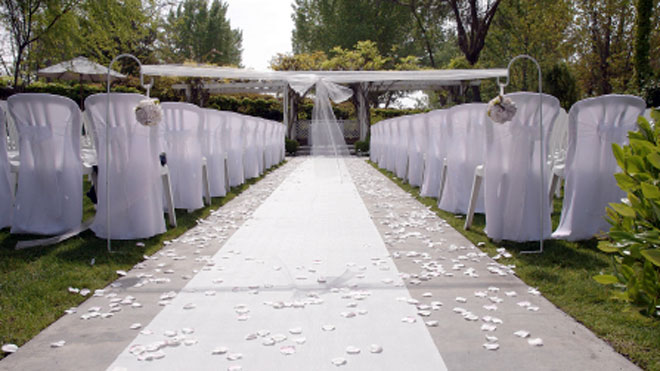 Wedding Ceremony Site, wedding ceremony