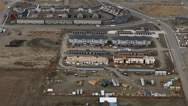 williston, residential development, north dakota, oil, drilling