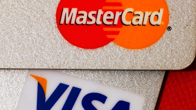 Master Card and VISA Credit Cards