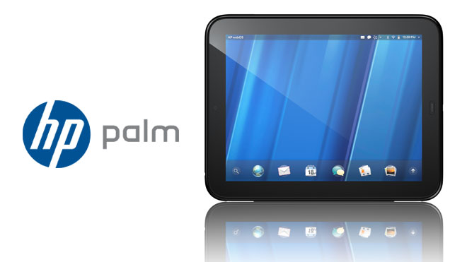 HP Palm TouchPad With Logo