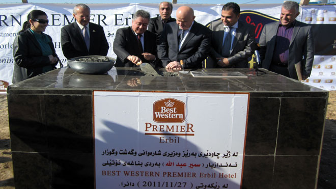 Best Western Premier Erbil Hotel in Iraq