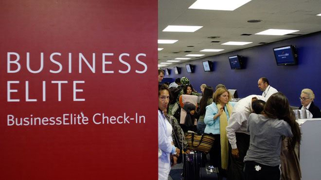 Delta Business Elite Check-In