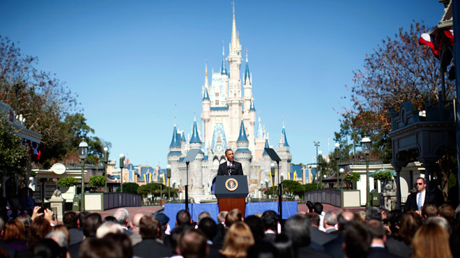 Obama at Disney World